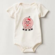 Little Pink Piggy Babywear Baby Bodysuit