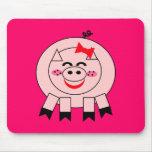 Little Pink Piggy Mousepad