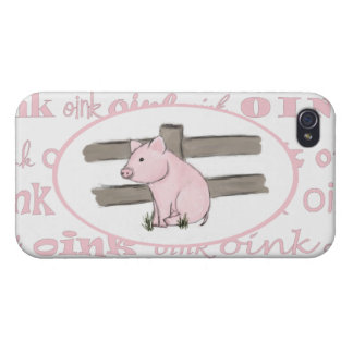 Little Pink Piglet iPhone 4 Case