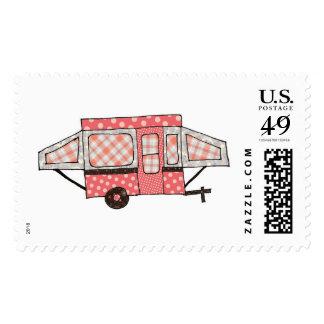 Little pink pop up postage