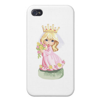 Little Pink Princess Cases For iPhone 4
