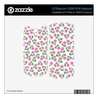 Little Pink Tea Roses UTStarcom CDM7076 Skin Skin For UTStarcom Phone