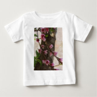 Little Pink Tree Flowers Baby T-Shirt