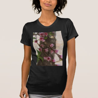 Little Pink Tree Flowers T-Shirt