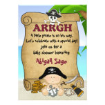 Little Pirate Baby Shower Invitation for Boys