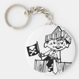 Little Pirate Boy Key Chains