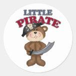 Little Pirate Classic Round Sticker