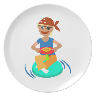 Little Pirate Party Plates