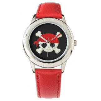 Little Pirate Skull Kids Watch