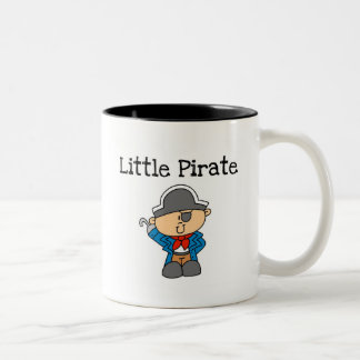 Little Pirate Tshirts and Gifts Two-Tone Coffee Mug