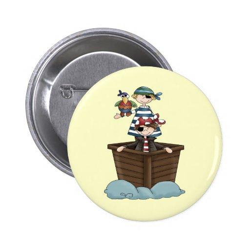 Little Pirates 2 Inch Round Button
