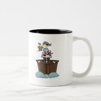 Little Pirates Two-Tone Coffee Mug