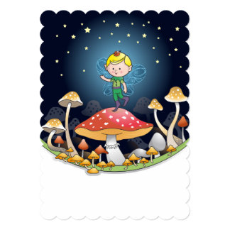 Little pixie card