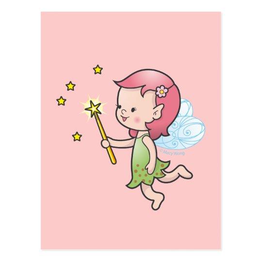 Little pixie postcard