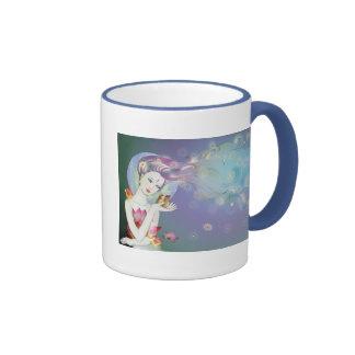 Little Pixy Boots - Stargazing Ringer Coffee Mug