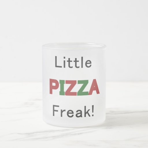 Little Pizza Freak Tshirts and Gifts Coffee Mugs