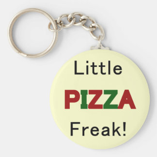 Little Pizza Freak Tshirts and Gifts Keychain