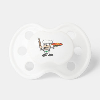 LITTLE PIZZA GUY BooginHead PACIFIER