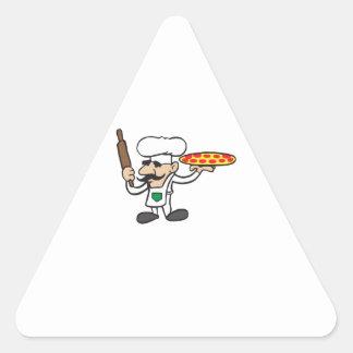 LITTLE PIZZA GUY TRIANGLE STICKER