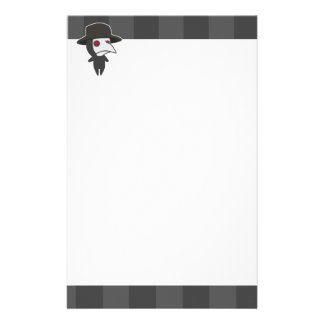 Little Plague Doctor Stationery Paper
