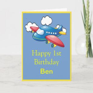 1st birthday cards zazzle