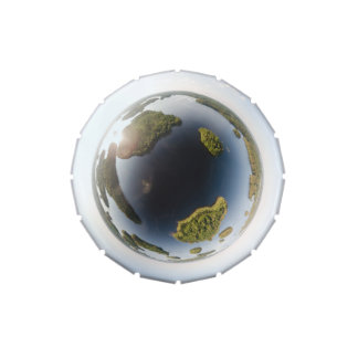 Little planet lake jelly belly candy tin