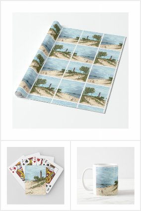 Little Point Sable Lighthouse gifts