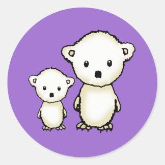 Little Polar Bears Stickers