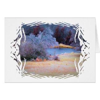 Little Pond Ice 1 Card