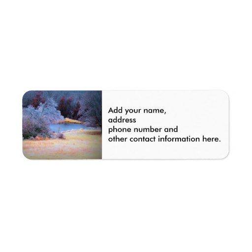 Little Pond Ice 1 Return Address Labels