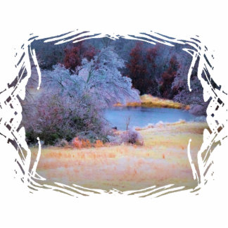 Little Pond Ice 1 Acrylic Cut Outs