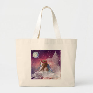 Little Praying Angel Tote Bags