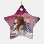 Little Praying Angel Christmas Tree Ornament