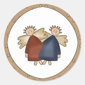 Little Prim Angels Stickers