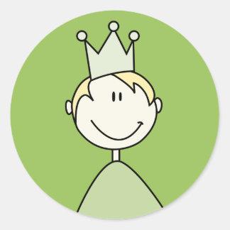 little prince 02 round sticker