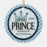 Little Prince 1st Christmas Ornament