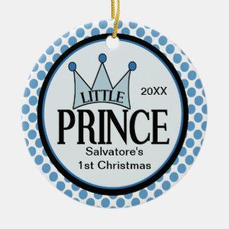 Little Prince 1st Christmas Ornament