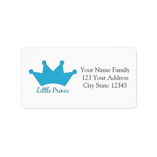 Little Prince - A Royal Baby Label
