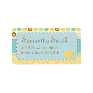 Little Prince Address Label
