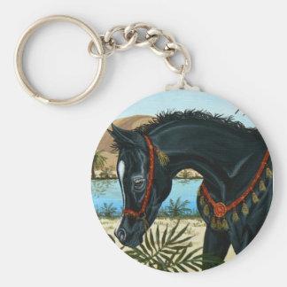Little Prince Arabian horse foal keychain