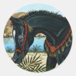 Little Prince Arabian horse foal sticker