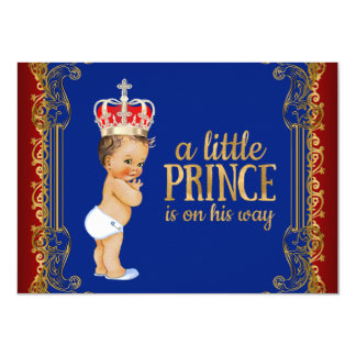 Little Prince Baby Shower Card