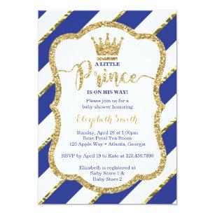 Little Prince Invitations Announcements Zazzle