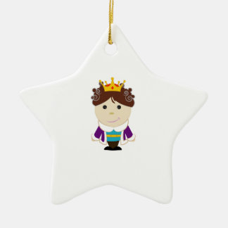 Little Prince Ceramic Ornament
