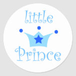 little prince classic round sticker