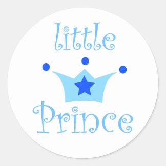 little prince classic round sticker