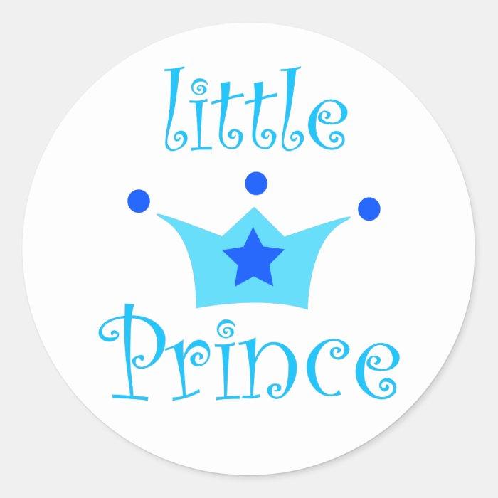 little prince classic round sticker  Zazzle