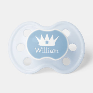 Little Prince | Custom Blue Baby Pacifier