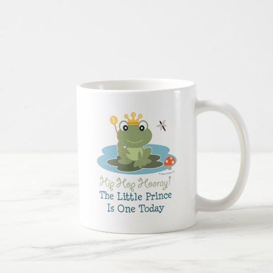 Little Prince Frog 1st Birthday Mug