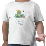 Little Prince Frog 2nd Birthday Tee Shirt
